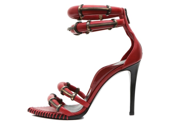 Stella Luna x Anthony Vaccarello Sandal in Red