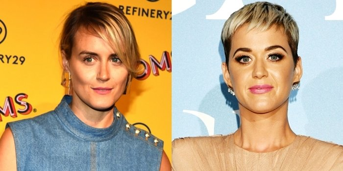 Taylor Schilling and Katy Perry look alike but they're not related