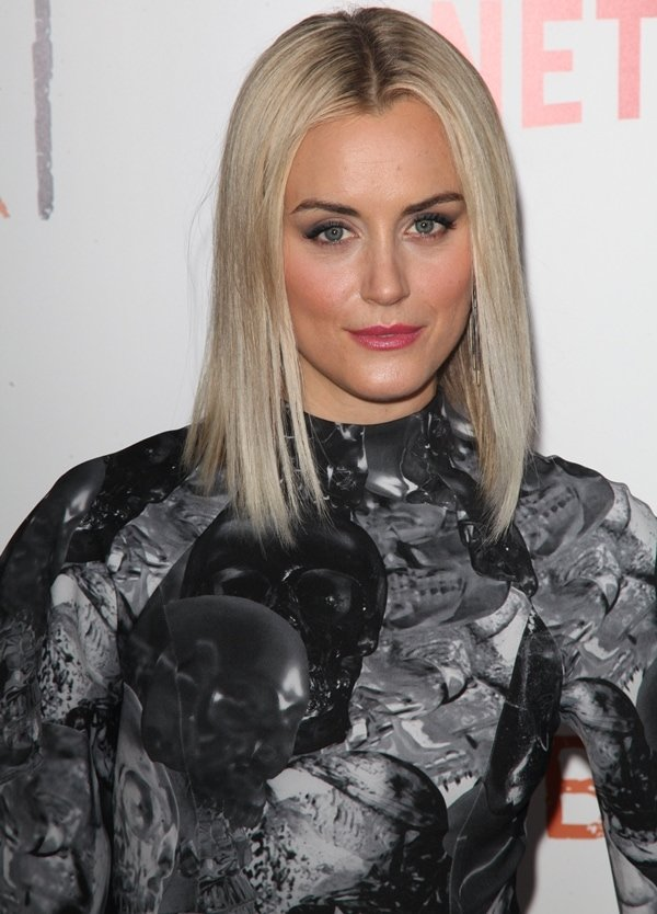 Taylor Schilling at the season 2 premiere of 'Orange Is the New Black'
