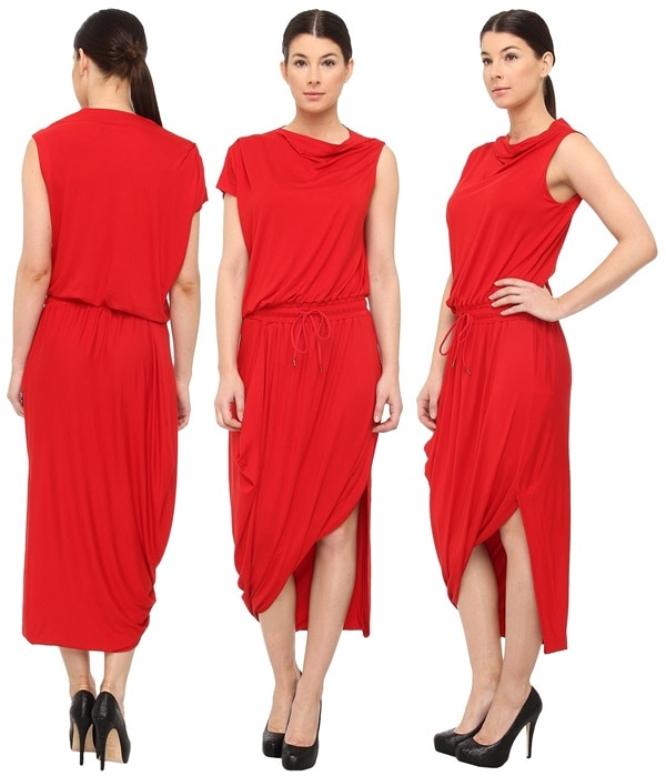 Vivienne Westwood Anglomania Quest Dress Poppy Red