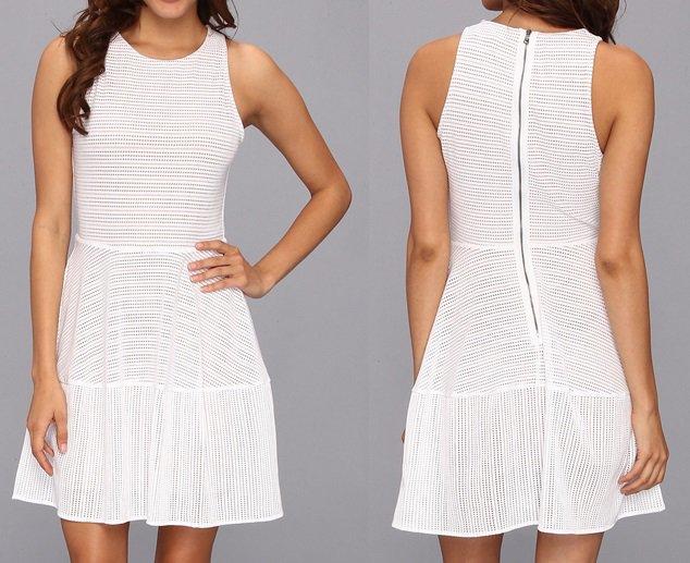 "BCBGMaxAzria ""Cassandra"" Sleeveless Lace Dress"