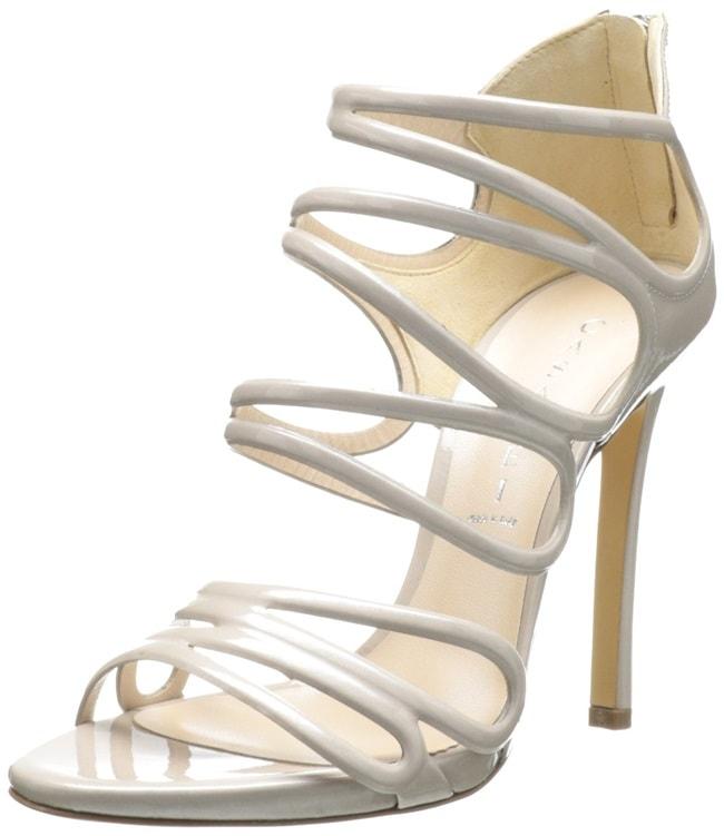 Casadei Strappy Blade Heel Sandals