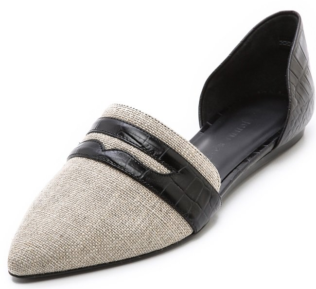 jenni kayne penny loafer d orsay flats