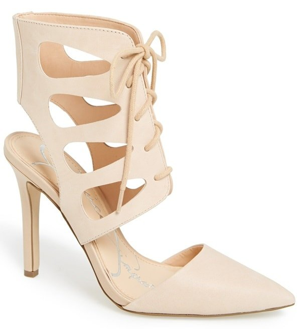 Jessica Simpson Cecerre Lace-Up Pumps