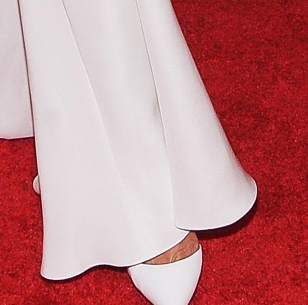 A closer look at Rihanna's pumps at the gala