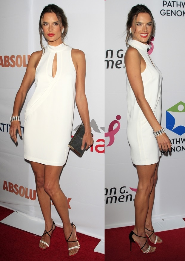Alessandra Ambrosio in Christian Louboutin Gwynitta Sandals