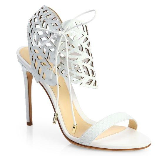 Alexandre Birman Laser Cut Sandals