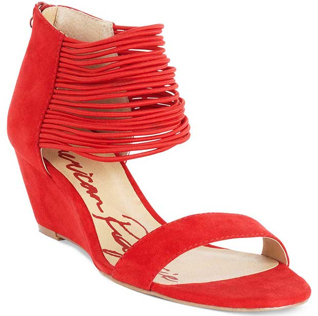 American-Rag-Carllie-Demi-Wedge-Sandals-Red