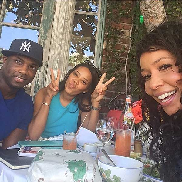 Angela Simmons' Instagram photo with the caption, What a great lunch with @forcefitnessinc @msjeanettejenkins !! Fitness gurus !!! #WeBuilding - posted on June 6, 2014