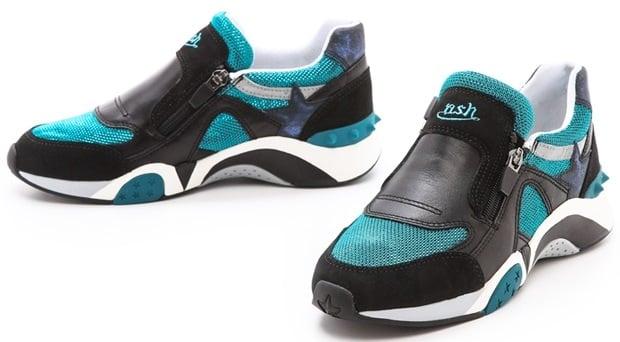 the latest c089b b9d0d Ash Hop Zipper Jogger Sneakers