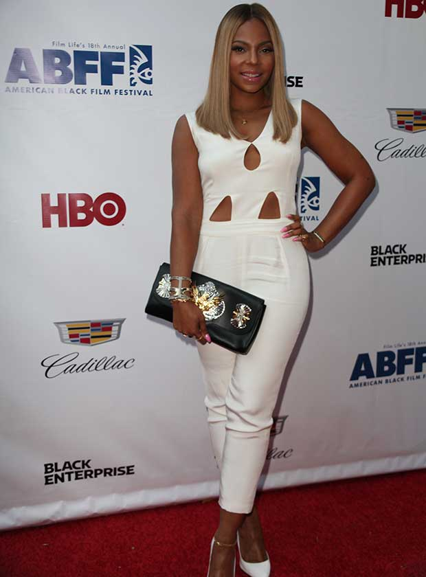 Ashanti at the 'Think Like a Man Too' premiere during the 2014 American Black Film Festival at SVA Theatre in New York City on June 19, 2014
