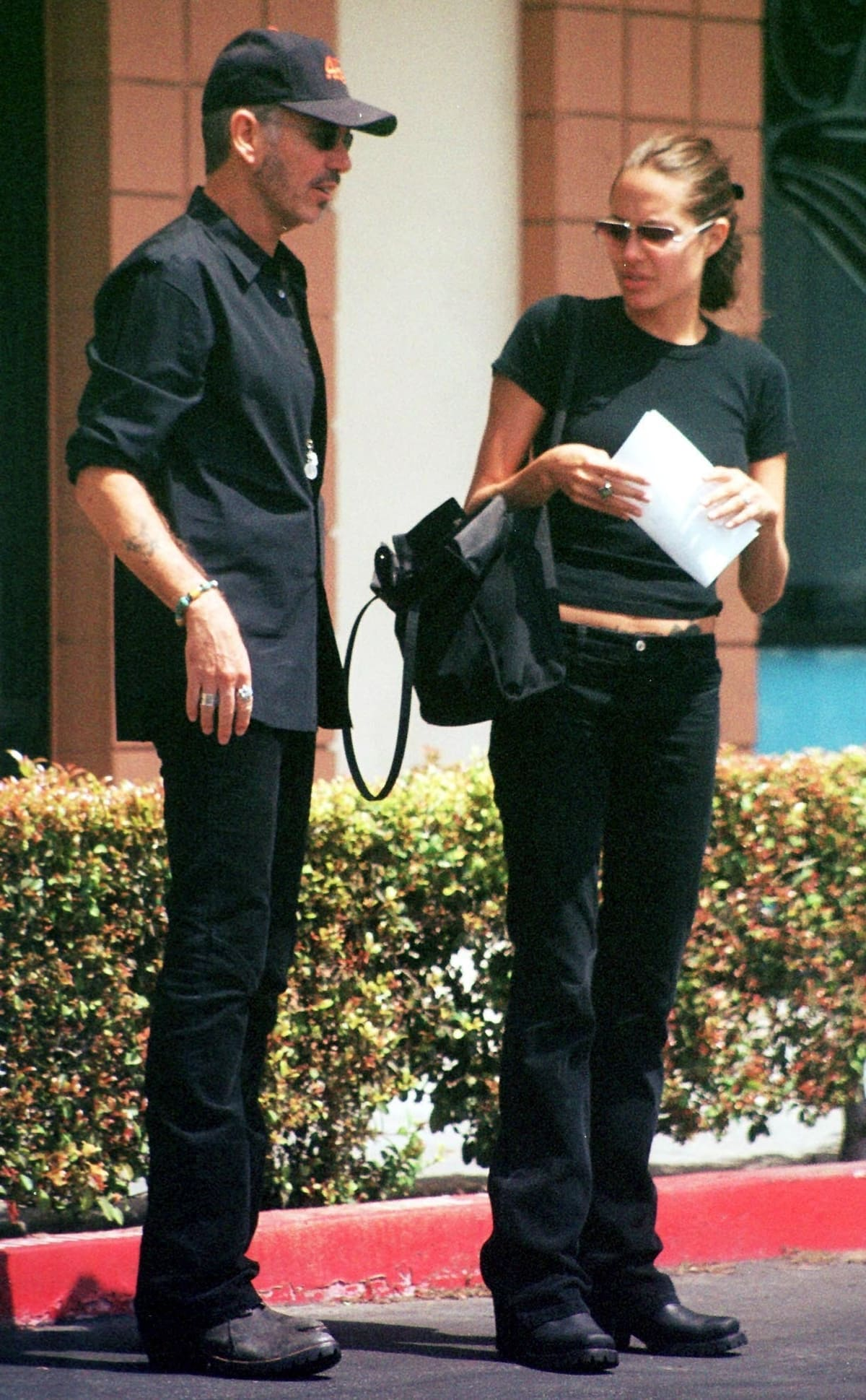 Meeting on the set of the 1999 film Pushing Tin, Billy Bob Thornton is 20 years older than Angelina Jolie