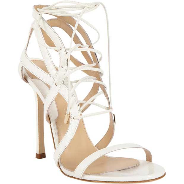 "Chelsea Paris Snakeskin ""Sosa"" Sandals"