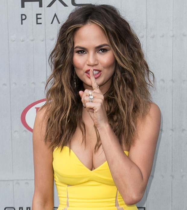 Chrissy Teigen at Spike TV's Guys' Choice 2014 at Sony Pictures Studios in Los Angeles on June 7, 2014