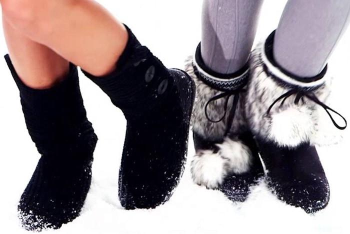 Super Soft Fuzzy Boots