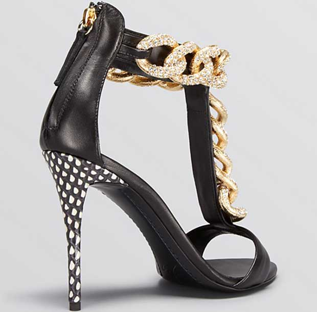 "Giuseppe Zanotti ""Coline"" Open-Toe High-Heel Sandals"