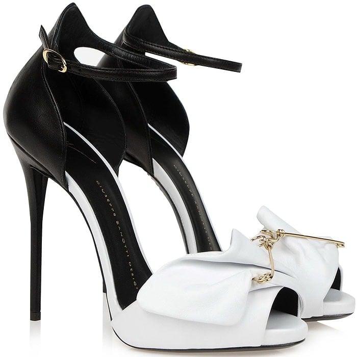 Giuseppe Zanotti safety pin sandals