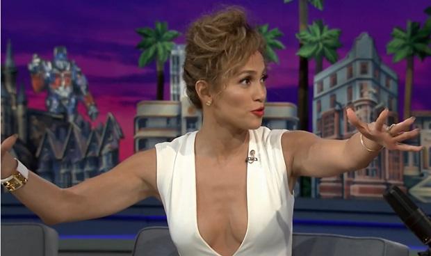 Jennifer Lopez on 'The Tonight Show' in Orlando, Florida, on June 16, 2014