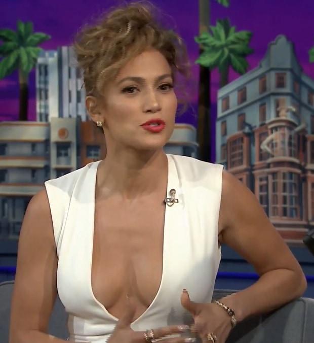 Jennifer Lopez on Jimmy Fallon