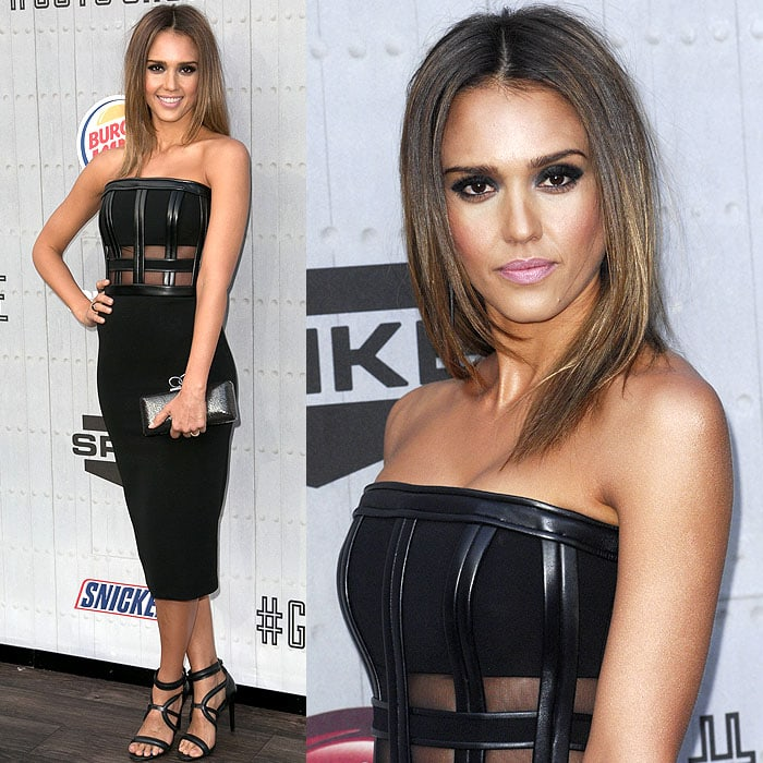 Jessica Alba Spike TV Guys Choice 2014