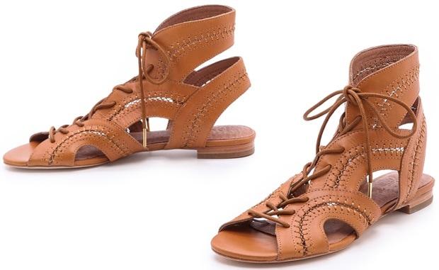 Joie Toledo Gladiator Sandals in Cuoio