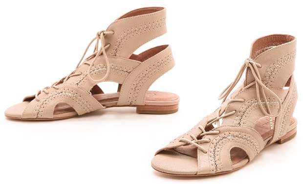 Joie Toledo Gladiator Sandals in Dusty Pink Sand