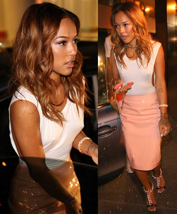 Karrueche Tran at Free the Nipple event at Skybar in Los Angeles on June 19, 2014