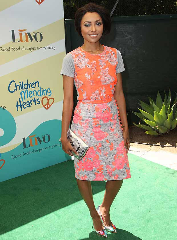 Kat Graham at Children Mending Hearts 6th Annual Fundraiser, 'Empathy Rocks: A Spring into Summer Bash', in Beverly Hills on June 14, 2014