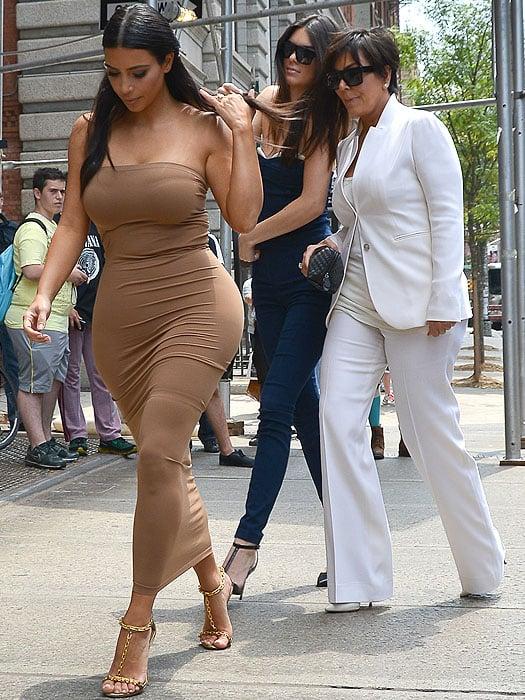 Kim Kardashian, Kendall Jenner, and Kris Jenner on an NYC apartment hunt