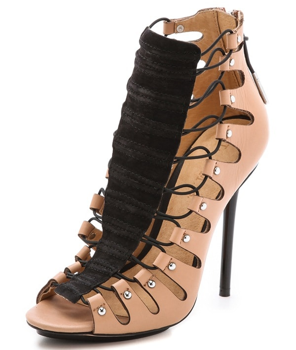 L.A.M.B. Falyn Laced Booties