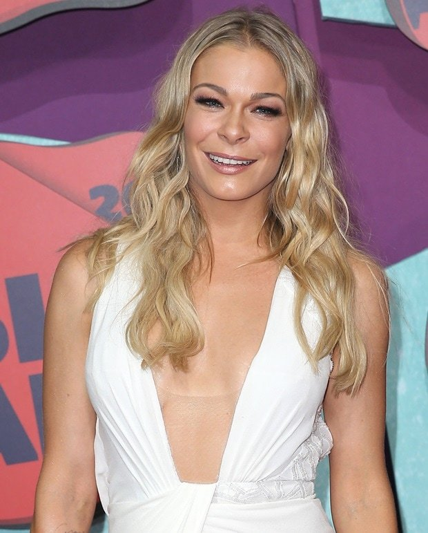 LeAnn Rimes attends the 2014 CMT Music awards at the Bridgestone Arena on June 4, 2014 in Nashville, Tennessee