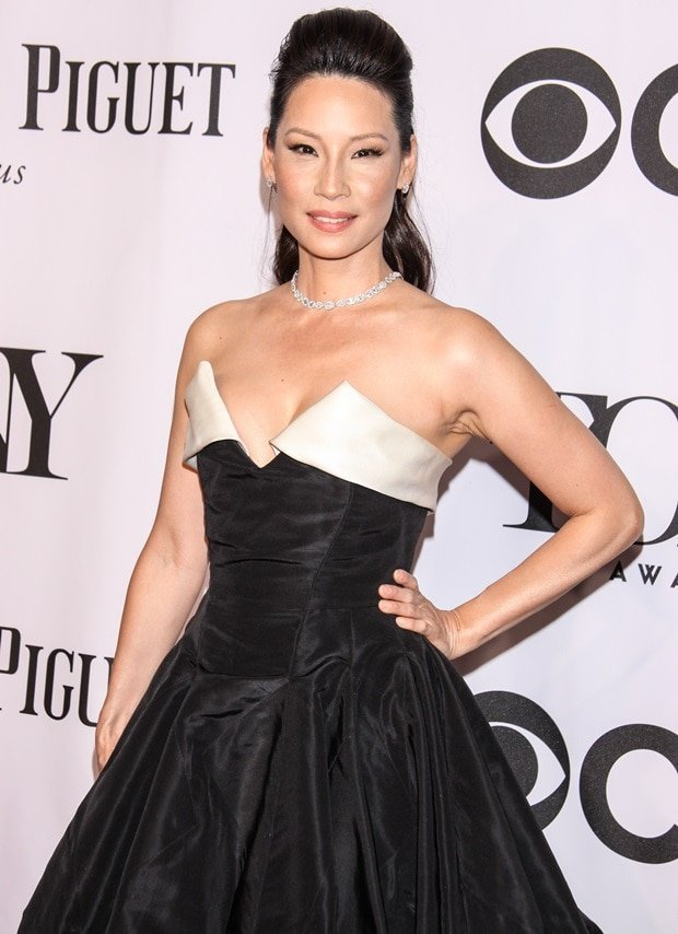 Lucy Liu at the 68th Annual Tony Awards