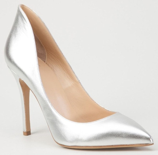 Madison Metallic Pumps