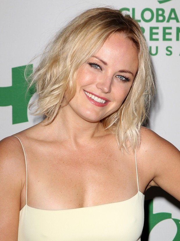 Malin Akerman at Global Green USA's pre-Oscar event in Los Angeles on February 27, 2014