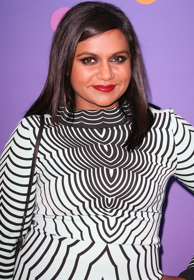 "Mindy Kaling at FOX's ""Girls Night Out"" Q&A and Champagne Bar Reception held at the Leonard H. Goldenson Theater in North Hollywood on June 9, 2014"