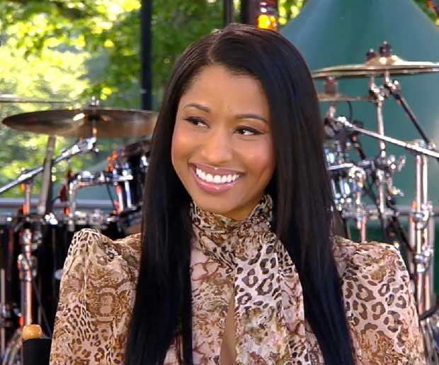 Nicki Minaj made an appearance on 'Good Morning America' on Friday of last week to give her fans a sneak peek at her music video for 'Pills N Potions'