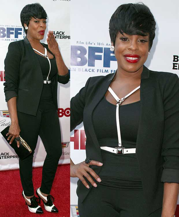 Niecy Nash at the 'Think Like a Man Too' New York premiere during the 2014 American Black Film Festival at SVA Theatre in New York City on June 19, 2014