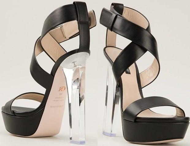 "Ruthie Davis ""Naomi"" Sandals in Black"