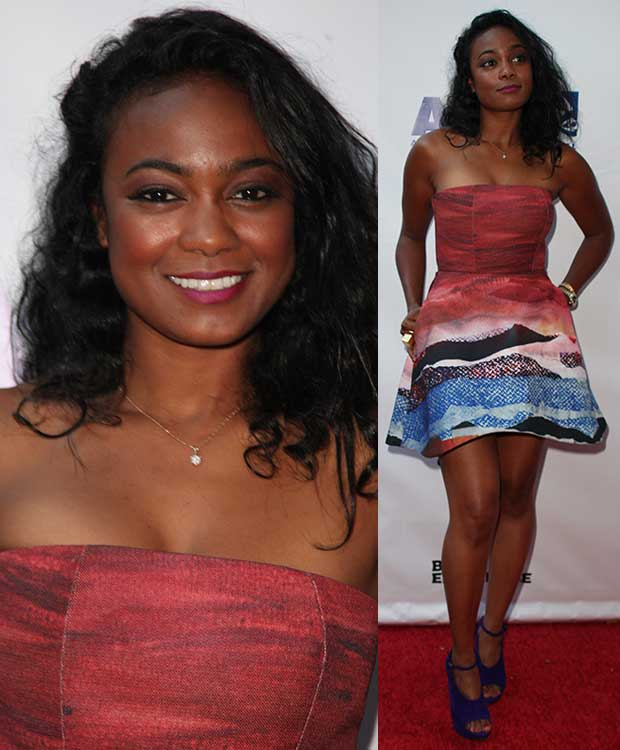 Tatyana Ali at the 'Think Like a Man Too' premiere during the 2014 American Black Film Festival at SVA Theatre in New York City on June 19, 2014