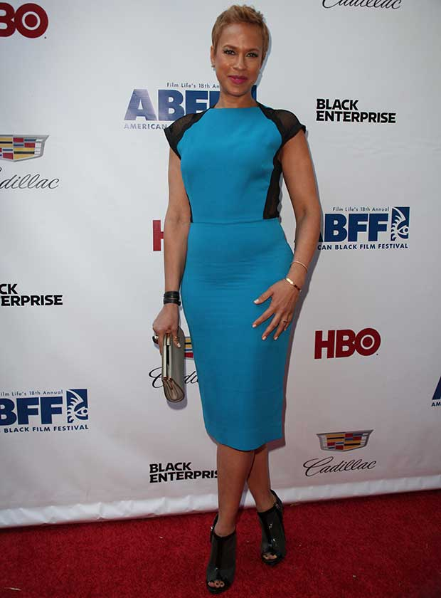 Tonya Lewis Lee at the 'Think Like a Man Too' New York premiere during the 2014 American Black Film Festival at SVA Theatre in New York City on June 19, 2014