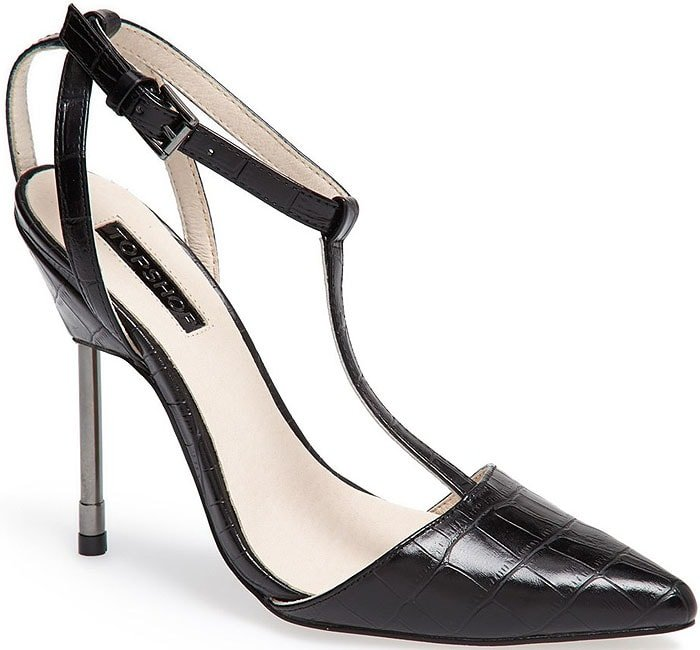 Vamp up your look with the fierce-and-feminine Ghost pump from Topshop