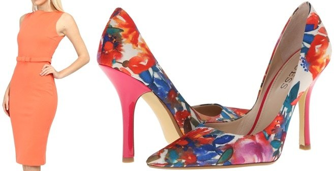 dsquared2 dress guess carrie pumps