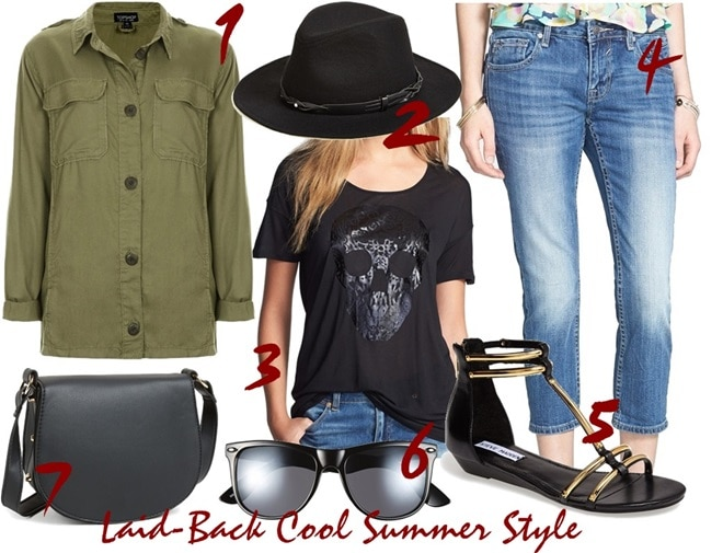 Summer style outfit inspired by Jessica Alba