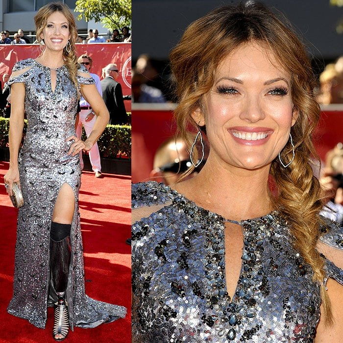 Amy Purdy attended the 2014 ESPY Awards held at Nokia Theatre L.A. Live in Los Angeles on July 16, 2014