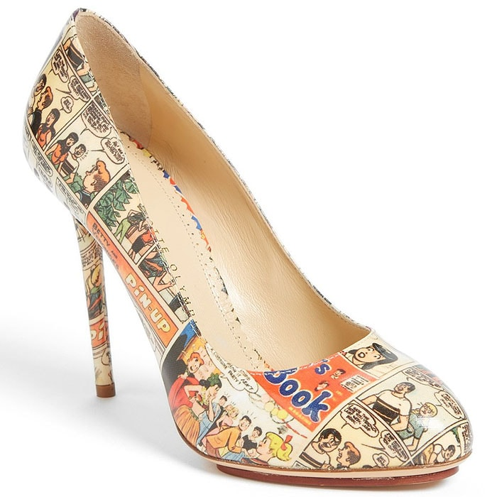 Charlotte Olympia Jennifer Comic pump