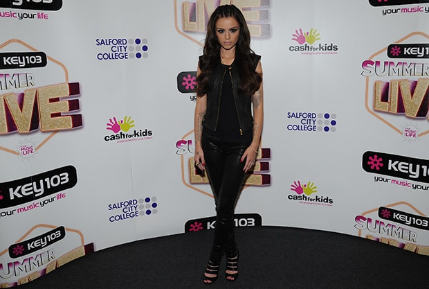 Cher Lloyd at Key 103 Summer Live at Phones 4u Arena in Manchester, United Kingdom, on July 17, 2014