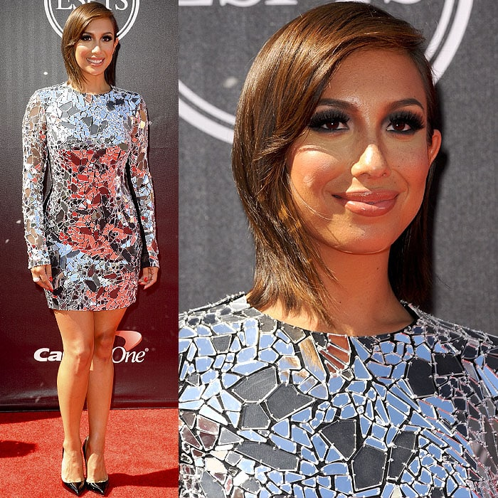 Cheryl Burke attended the 2014 ESPY Awards held at Nokia Theatre L.A. Live in Los Angeles on July 16, 2014