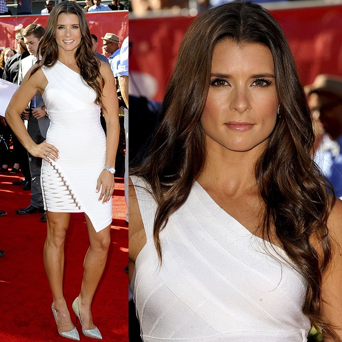 Danica Patrick attended the 2014 ESPY Awards held at Nokia Theatre L.A. Live in Los Angeles on July 16, 2014