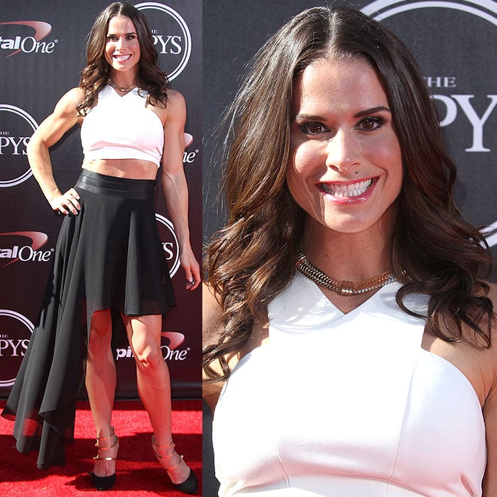 Danyelle Wolf attended the 2014 ESPY Awards held at Nokia Theatre L.A. Live in Los Angeles on July 16, 2014