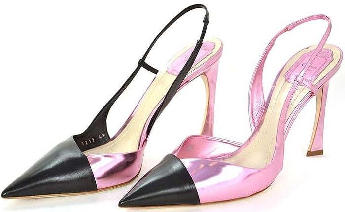 Dior Spring 2013 slingback pumps 2
